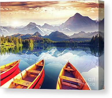 Climbing Canvas Prints