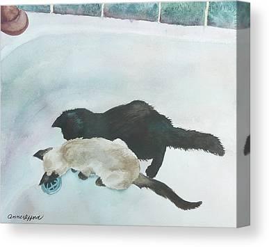 Designs Similar to Two Cats In A Tub