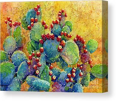 Prickly Pear Canvas Prints
