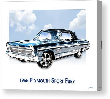 Plymouth Canvas Prints