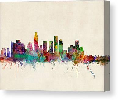 Los Angeles California Canvas Prints