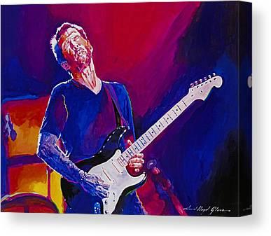 Rock Eric Clapton Music Canvas Prints