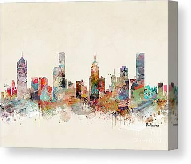 Melbourne Canvas Prints