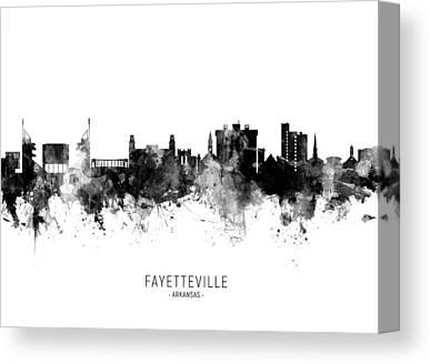 Fayetteville Canvas Prints