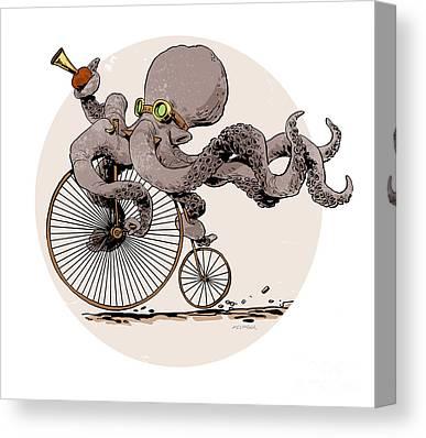 Steampunk Canvas Prints
