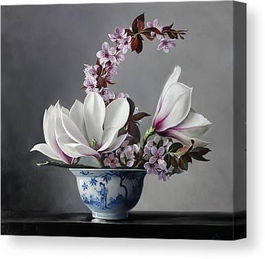 Magnolia Canvas Prints