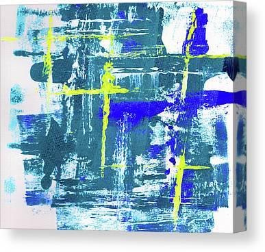 Waterway Canvas Prints