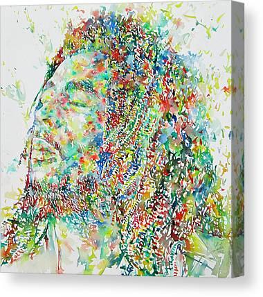 Profile Canvas Prints