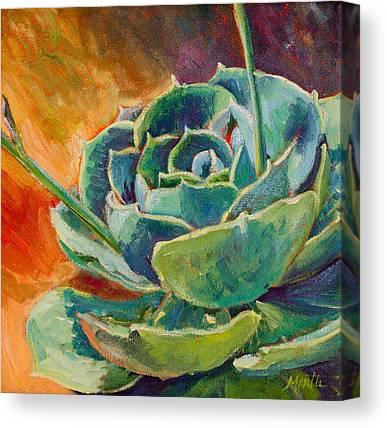 Succulent Canvas Prints