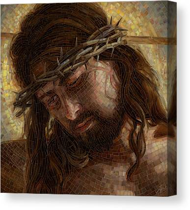 Crown Of Thorns Canvas Prints