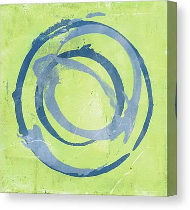 Circles Canvas Prints