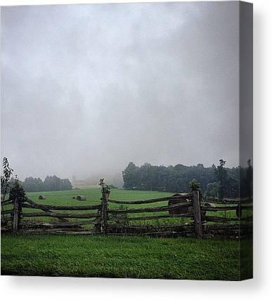 Blue Ridge Parkway Canvas Prints