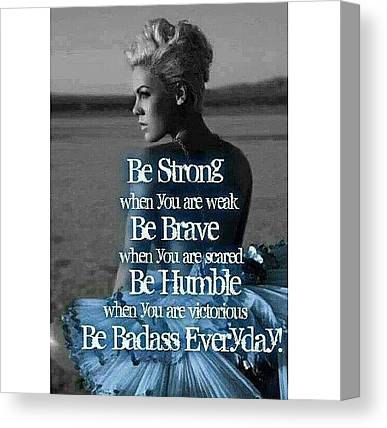 Inspirational Canvas Prints