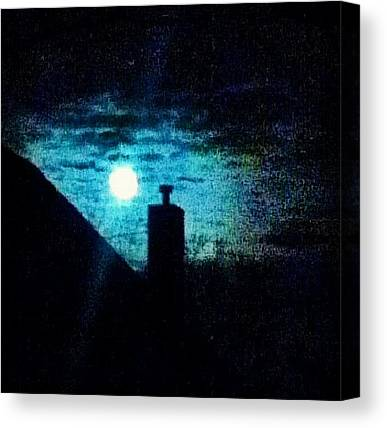 Nightime Canvas Prints