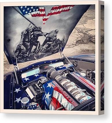 Patriotic Canvas Prints