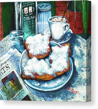 Cafe Au Lait Canvas Prints Fine Art America