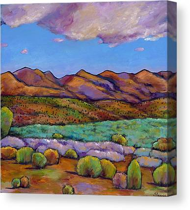Red Mountain Canvas Prints