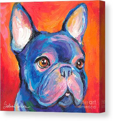 Puppies Canvas Prints