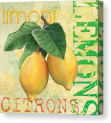 Produce Canvas Prints
