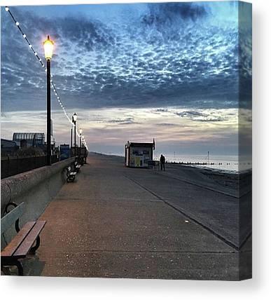 Seaside Canvas Prints