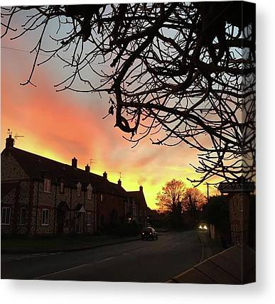 Night Sky Canvas Prints