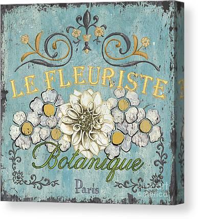 Yellow Flower Canvas Prints