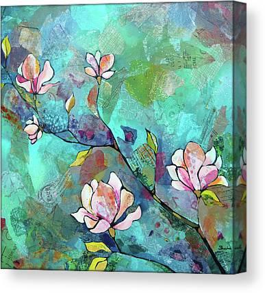 Magnolias Canvas Prints