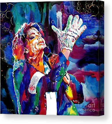 King Of Pop Michael Jackson Canvas Prints