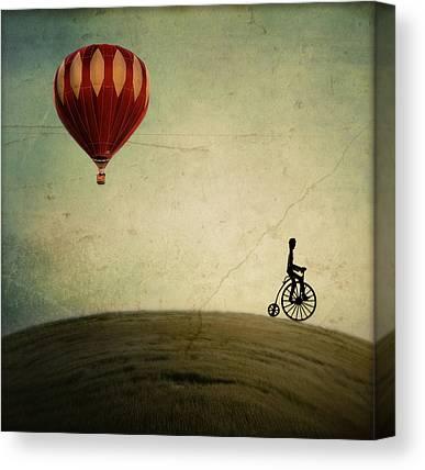 Hot Air Balloon Canvas Prints