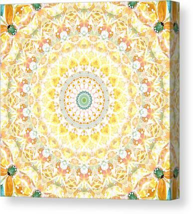 Mandala Canvas Prints