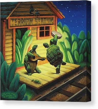 Jerry Canvas Prints