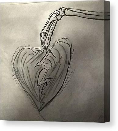 Heart Canvas Prints