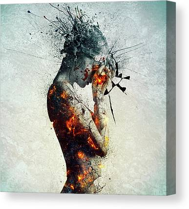 Grunge Canvas Prints