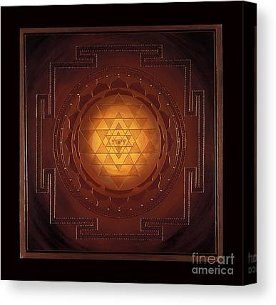 Sacred Geometry Canvas Prints