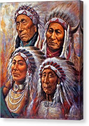 Black Elk Canvas Prints