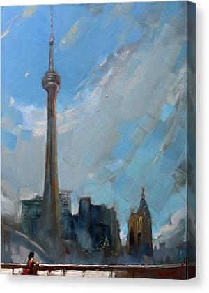 Cn Tower Canvas Prints