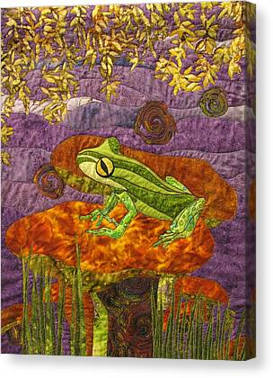 Art Quilt Tapestries Textiles Canvas Prints