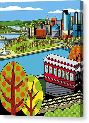 Parks Digital Art Canvas Prints