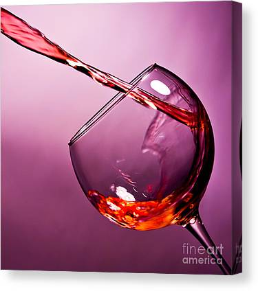 Glass Art Canvas Prints