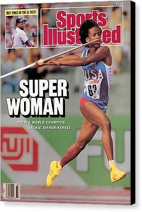 Javelin Throw Womens Vinyl Decal,track and field,heptathlon,sm