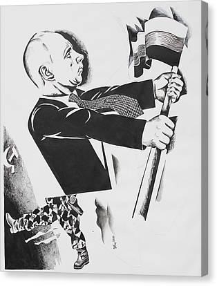 .          Forward  Russia Canvas Print