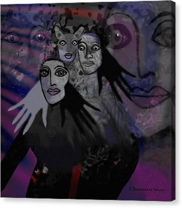 071 -  People Of   Night   Canvas Print