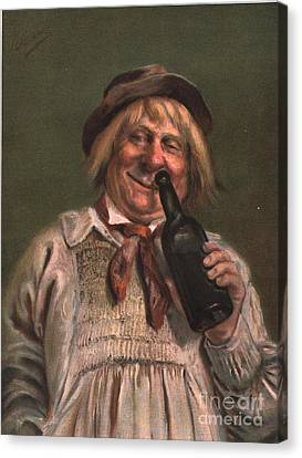 1890s Uk Expressions Smell Drunks Canvas Print by The Advertising Archives
