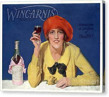 1910s Uk Wincarnis Wine Fortified Canvas Print by The Advertising Archives