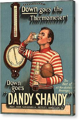1920s Uk Dandy Shandy Sarsaparilla Canvas Print by The Advertising Archives
