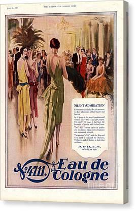 1928 1920s Uk 4711 Eau De Cologne Canvas Print by The Advertising Archives