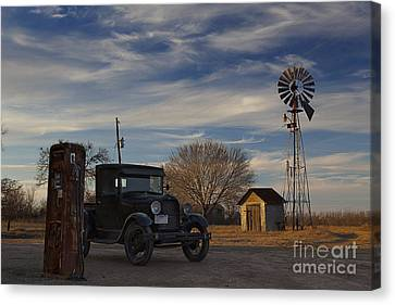 A Lost Era Canvas Print by Keith Kapple