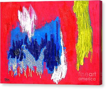 Canvas Print - Abstract Tn 005 By Taikan by Taikan Nishimoto
