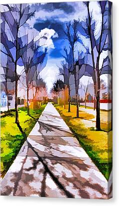 A Walk To Remember Canvas Print