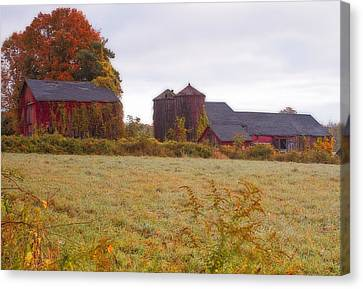 Abandoned Connecticut Farm  Canvas Print by John Vose